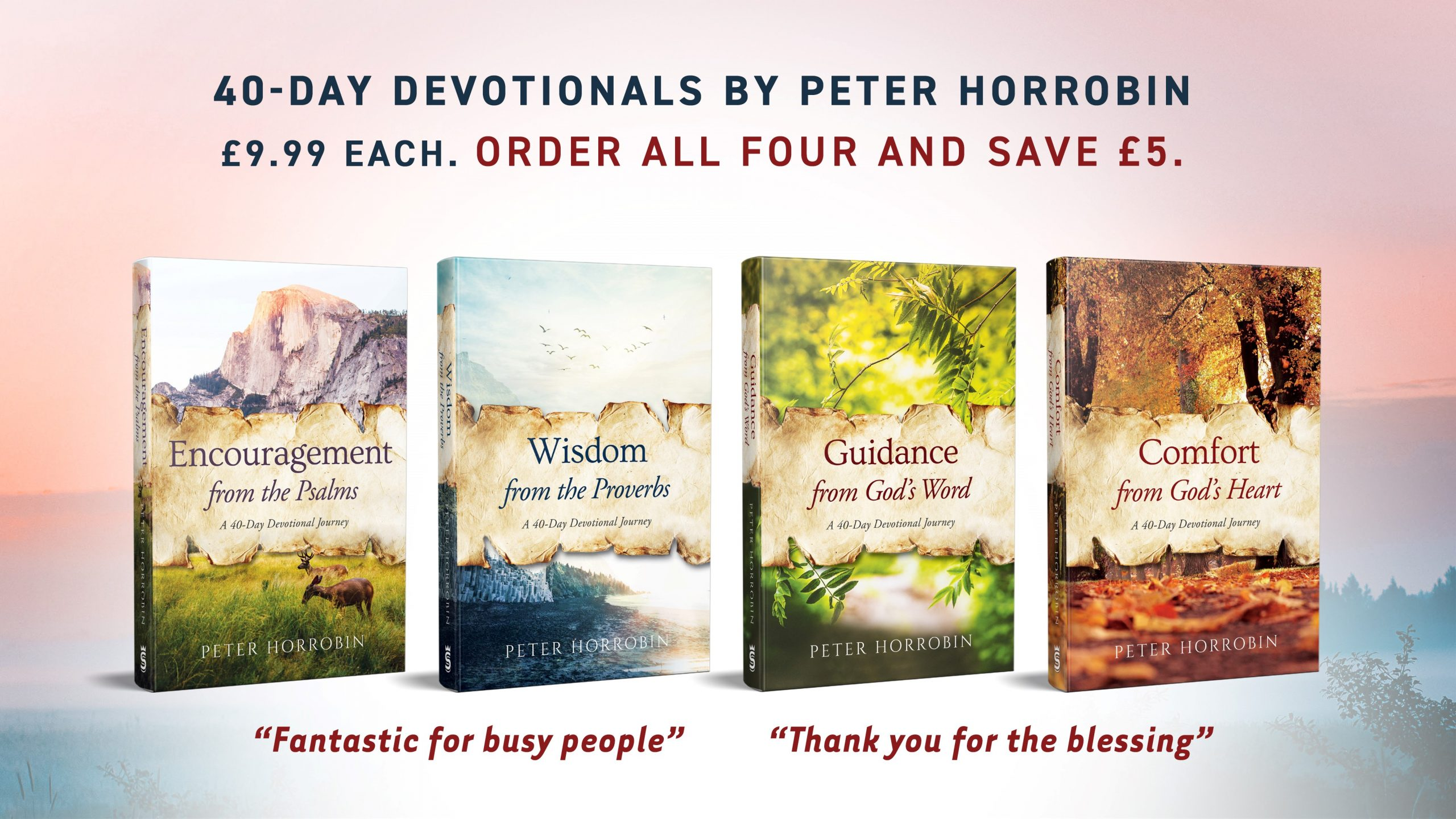 40 day devotional special offer 2021